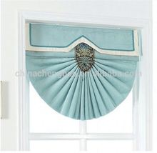 roman blinds curtain elegant electric fan shaped blinds