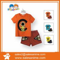 Summer new arrival kids boys clothes set wholesale china guangzhou children's clothes