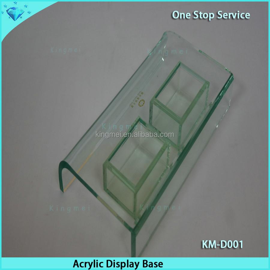 Plexiglas Schrank Rotierenden Acryl Display Box-Anzeigen-Zahnstangen ...