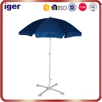 2.2m*8k 6mm fiberglass ribs 210D oxford heat-transfer printing 32/32 steel pole advertising classic oxford beach umbrella