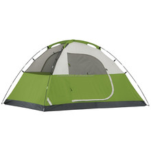 Waterproof 4 Person quick setup family tent outdoor camping dome tent 2 windows for backpacking, hiking, camping