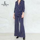 New women casual high waisted pants suit,custom women suit pants