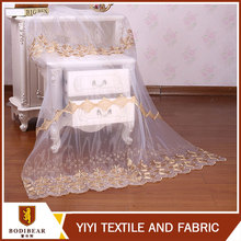 Home decor dubai best voile embroidered sheer voile curtain fabric