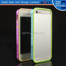Luxury Color Frame Shell Case Cover For iPhone 5 Metal Aluminum Bumper