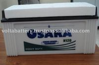 145F51L/R 12V 120AH car battery