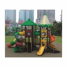 HLB-7089B Children Outdoor Playground Equipment Kids Spiral Tube Slide