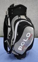 Golf bag made of nylon golf staff bag with logo embroidery