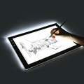 Langder A4 Ultra-thin Portable LED Light Box Tracer Artcraft Tracing Pad for Artists,Drawing, Sketching