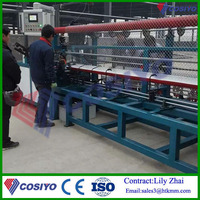 1.4mm-4.0mm Fully Automatic Chain Link Fence woven mesh Machine Price