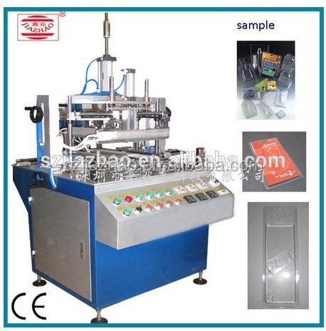 new condition jz-60 commodity packing PVC box edge folding machine