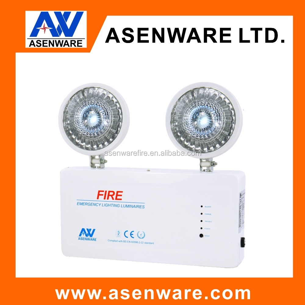 New design twin spots led emergency ligh quality