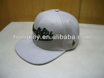 wholesale 100% cotton special embroidery snapback hats with flat brim