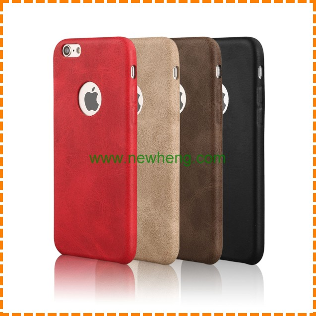 Customize for iphone 7 Cell Phone Case Retro Leather Wholesale