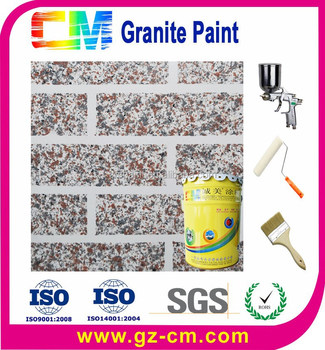 Texture coating- natural effect liquid granite spray paint