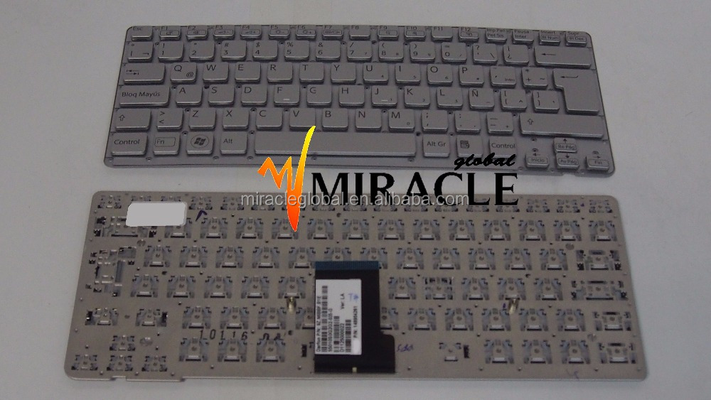 New Laptop Internal Keyboard for sony VPCCA VPC-CA VPC CA Notebook Laptop Keyboard Repair LA layout