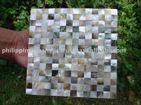 Super deal White & Black Lips Shell Tiles (Mosaic Design)