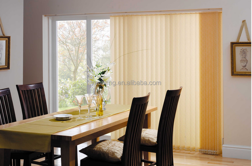 Decorative motorised vertical blinds window curtain buy - Cortinas de comedor ...