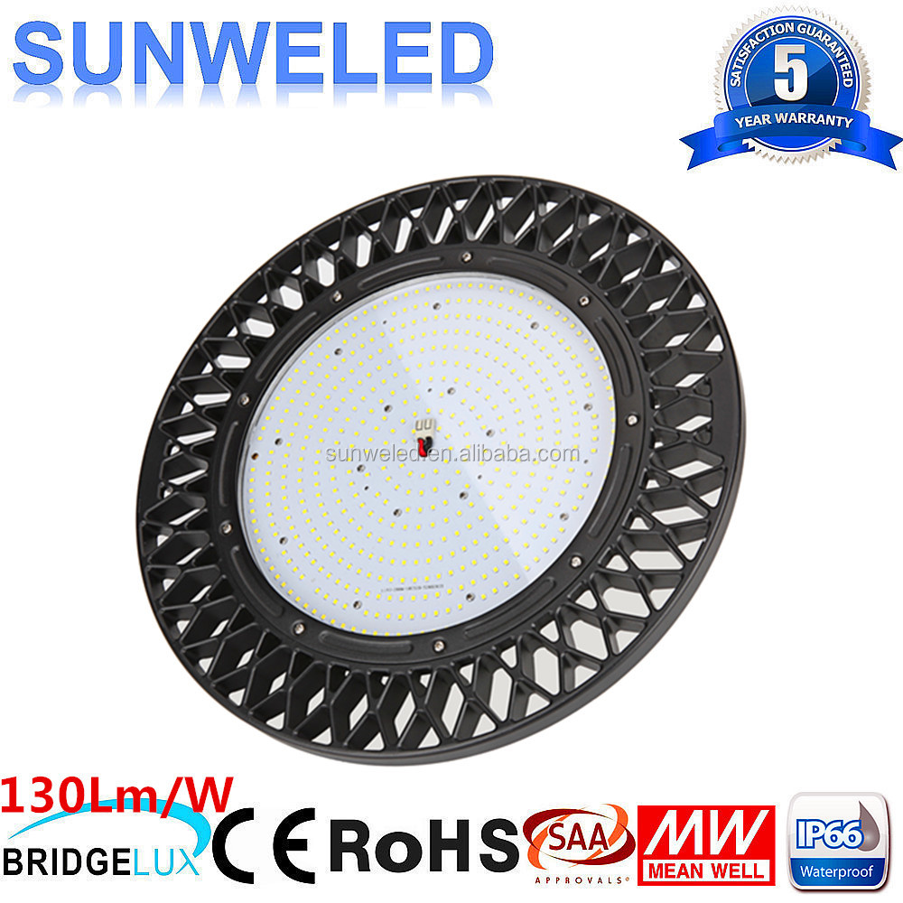 UL MEANWELL Driver ufo led high bay 100w 120w 150w 200w 240w