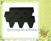 Green color asphalt shingles