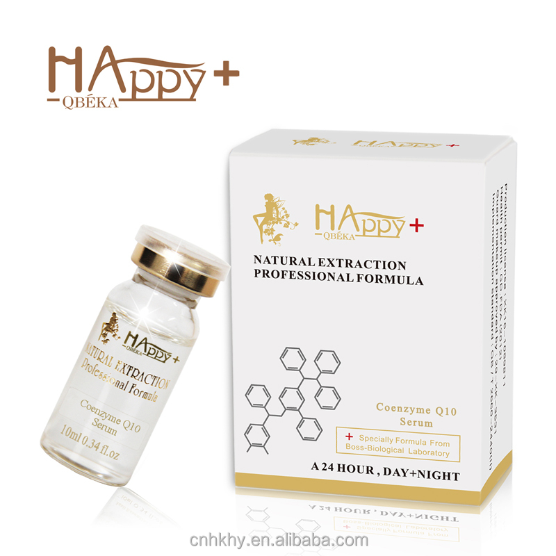 Active regeneration facial serum Happy+ QBEKA coenzyme <strong>Q10</strong> skin care serum best anti-wrinkle serum