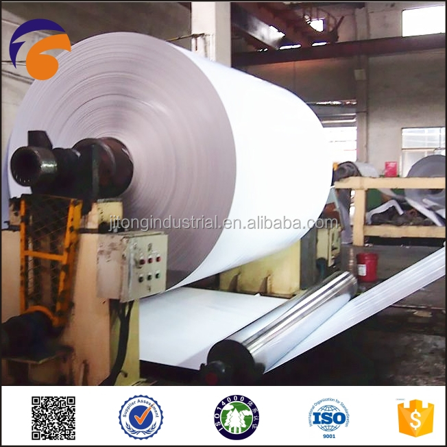 paper-Fuyang- Grade A Recycled Offset Paper Duplex Board Grey Back
