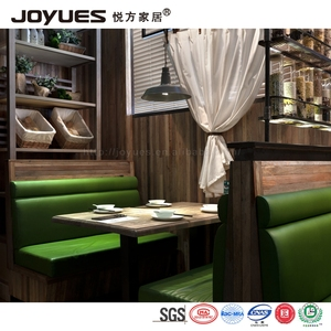 restaurant booth sofa and dining table set,luxury furniture leather restaurant booth sofa