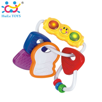 2017 Huile Plastic Baby Rattle Toys With Light