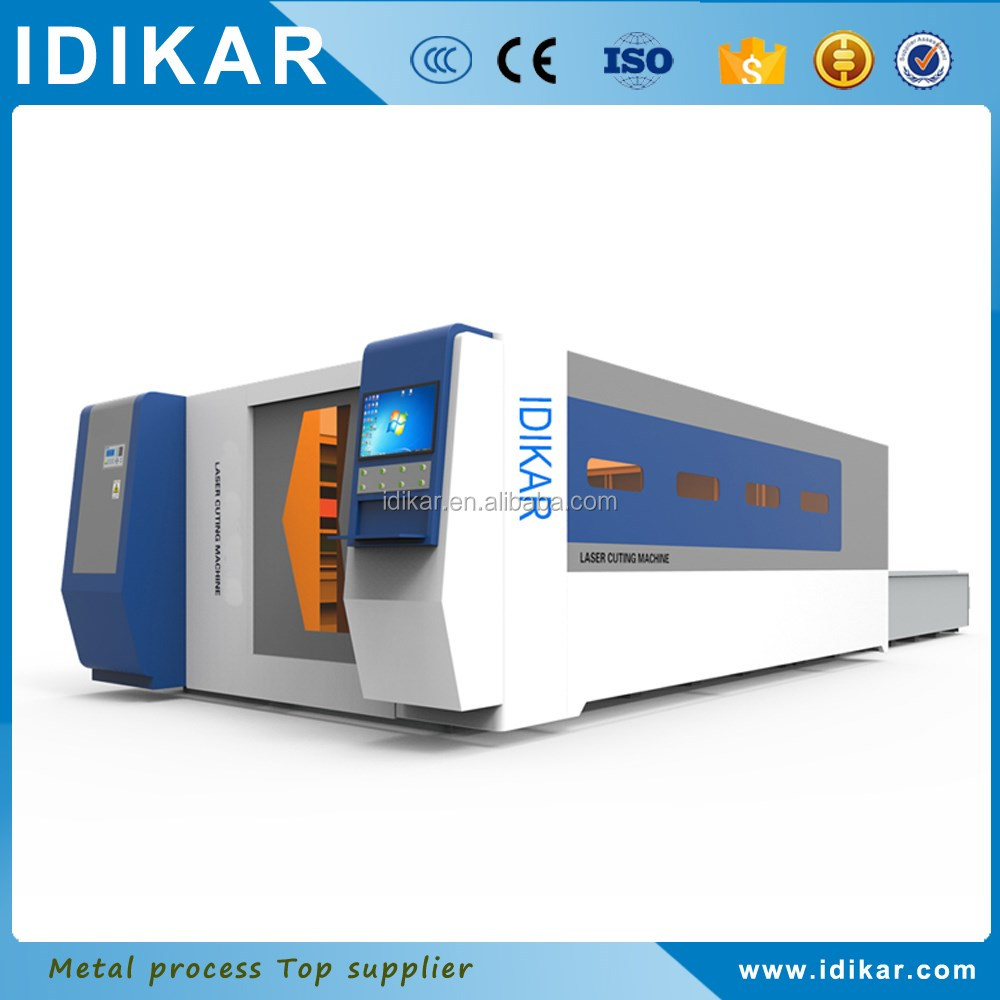 with full protect cover fiber laser <strong>cutting</strong> machine made in china for metal cut