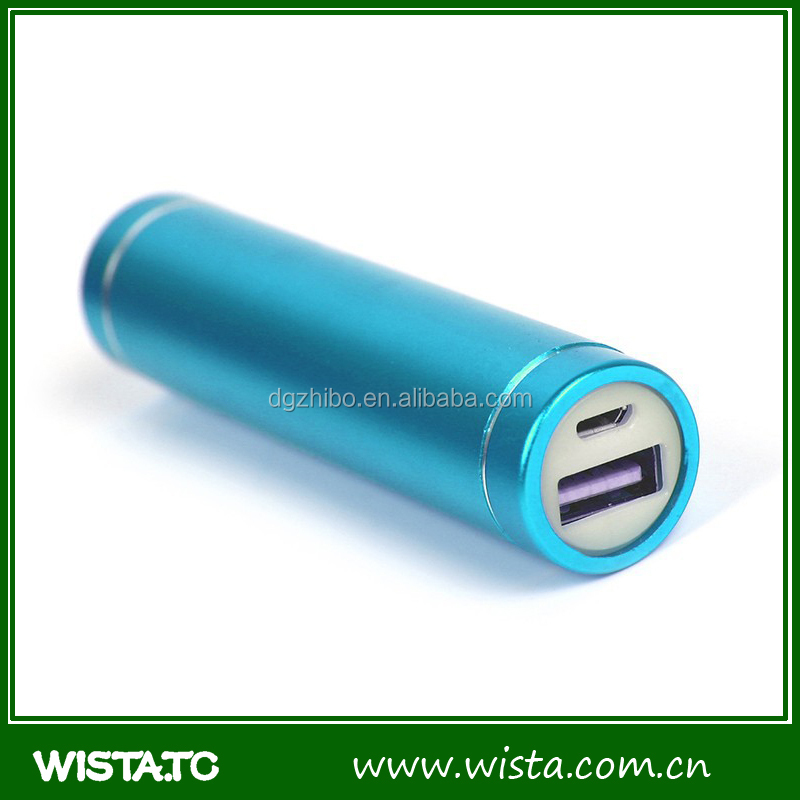 Mobile External Battery Charger USB Portable Power Bank 2600mah,lipstick power bank