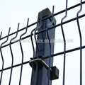 triangle curved welded mesh fencing