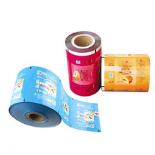 laminated plastic snack packing film puffed food packing film accepted customized