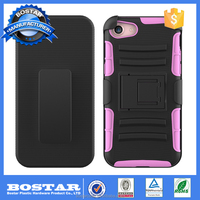2016 Trending Products Low Moq Pc Silicone 2 In 1 Mobile Phone Cover Case For Iphone 7