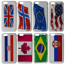 Top selling international flags pattern custom logo cell phone case for iphone 6