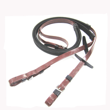 horse harness new design pvc racing reins with grip
