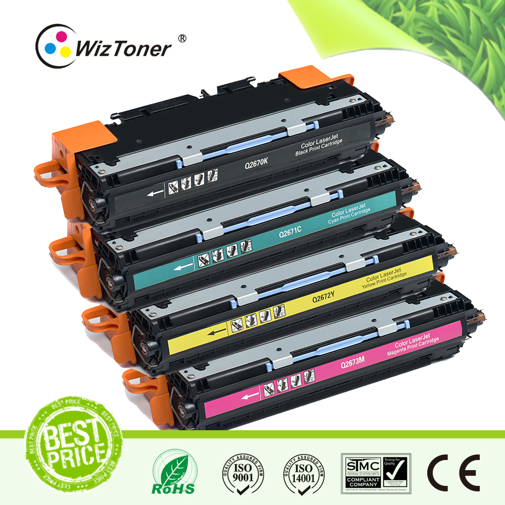 recycling Color Toner Cartridge 2670 2671 2672 2673 for HP 3550/3500