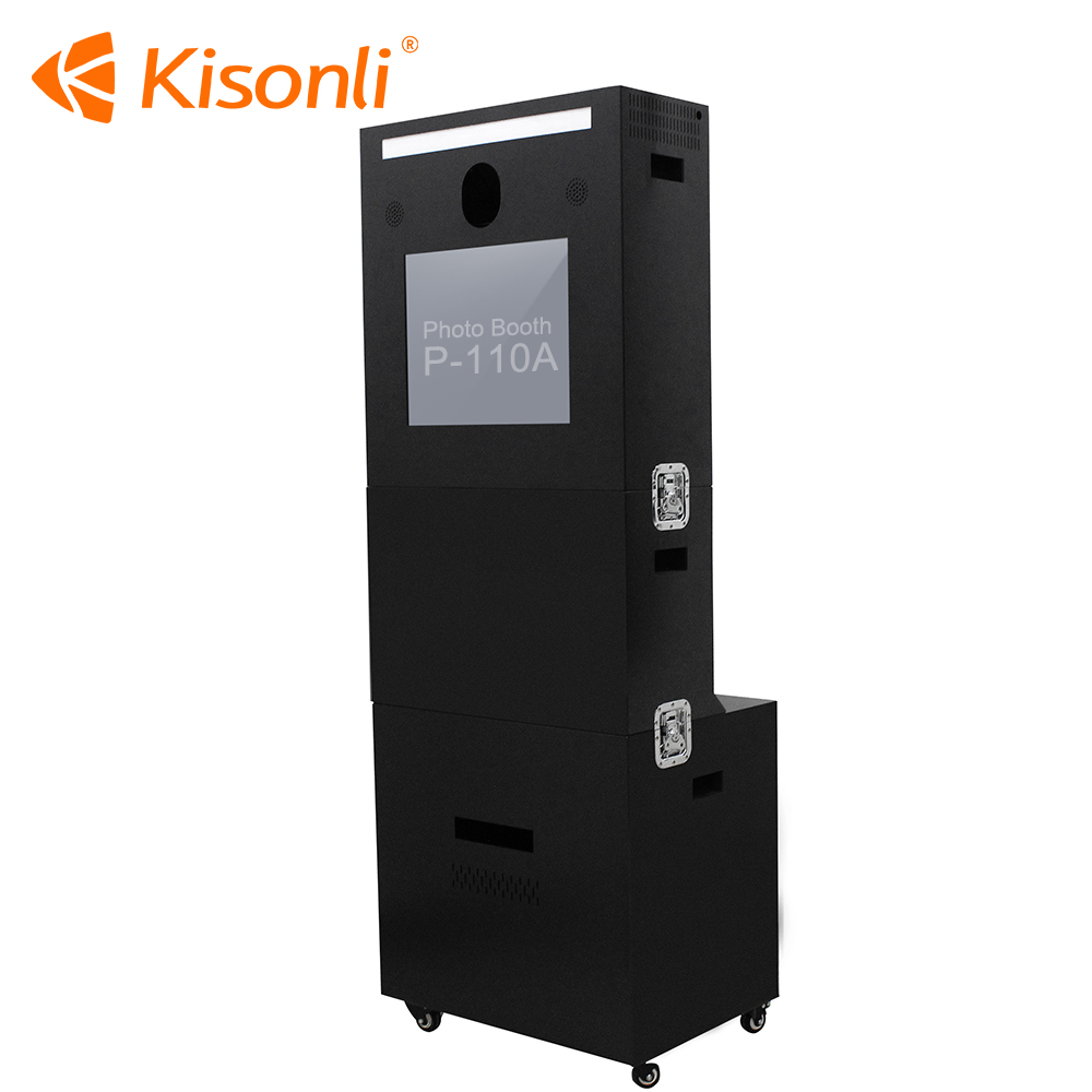 Wedding digital photo booth equipment machine portable photobooth kiosk for party