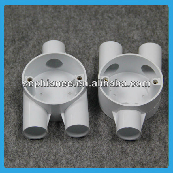Wholesale PVC Pipe 3 Way Plastic Pipe Connector