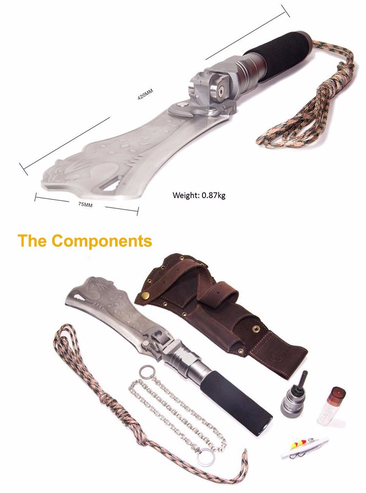 Многофункциональные ножи для выживания своими руками 57