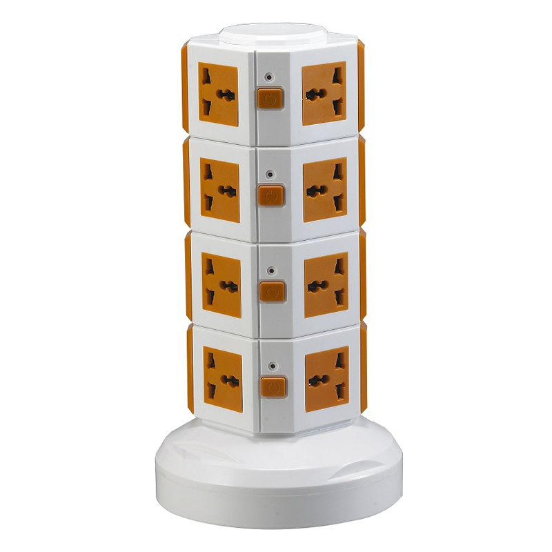 ME-S4 Four Layers multi <strong>electrical</strong> extension socket with 3 meter line