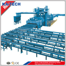 Q698 steel plate type sand blasting machine