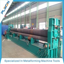 High quality widly used PLSON upper roller rolling machine to make gas plant