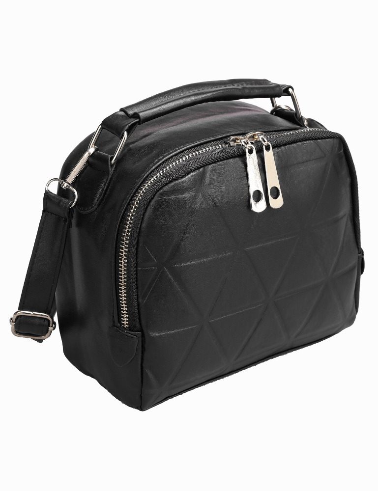 Vintage Styles Synthetic <strong>Leather</strong> Geometric Flap Cross Body Shoulder Bag