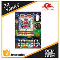 Fruit Cocktail metro Mario king TRAGAMONEDA led slot coin operated gambling machine