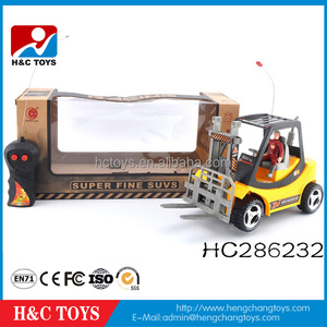 2 channel rc construction toy truck rc forklift HC286232