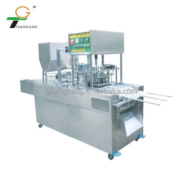 tofu packaging machine - soymilk packaging machine T-02 Soybean Milk Filling & Sealing Machine