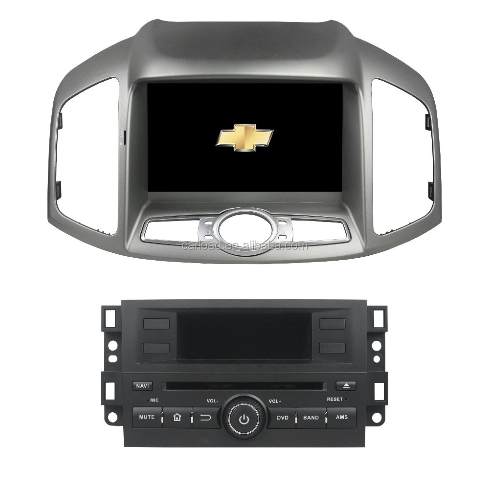 Chevrolet captiva 2012 car dvd with 2 din Android for