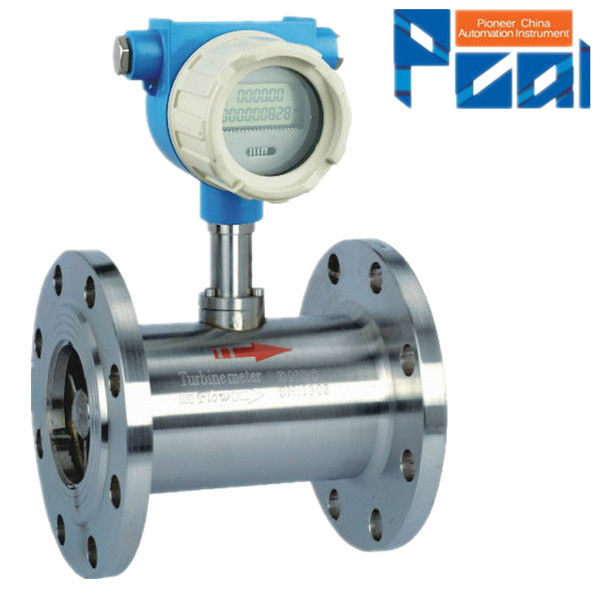 LWGY Liquid turbine water flow totalizer meter