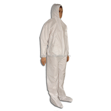 Disposable Microporous SMS coverall for asbestos removing,approved CE type 5 type 6 standard
