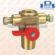DHQF-T1A Manual cng cylinder valve for vehicle