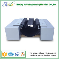 Soundproof Resilient Rubber Wall Expansion Joint Caulk in Office Building